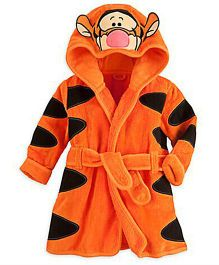 Pre Order - Awabox Animal Design Bathrobe - Orange