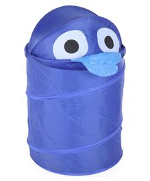 Animal Design Laundry Bag - Blue