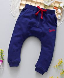 ToffyHouse Diaper Leggings Superpolo Embroidered - Royal Blue