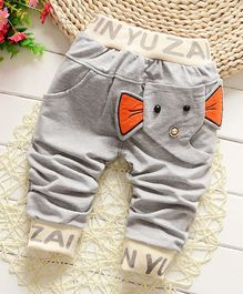 Pre Order - Awabox Elephant Theme Full Length Pants - Grey