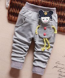 Pre Order - Awabox Doll Theme Full Length Pants - Grey