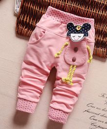 Pre Order - Awabox Doll Theme Pants - Pink