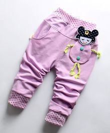 Pre Order - Awabox Doll Theme Full Length Pants - Purple