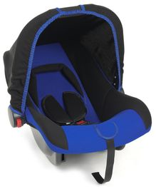 Carry Cot Cum Rocker - Royal Blue Black