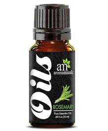 AromaMusk Pure Rosemary Aroma Essential Oil - 10 ml