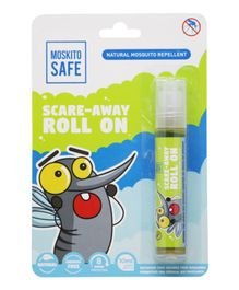 Moskito Safe Scare Away Natural Mosquito Repellent Roll On - 10 ml
