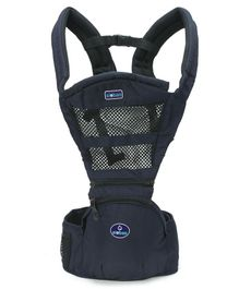 Baby Carrier With Padded Straps - Navy Blue