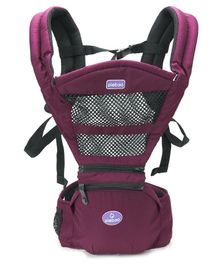 Baby Carrier With Padded Straps - Magenta