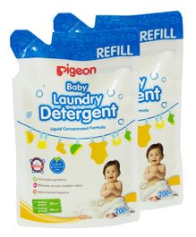 Pigeon Baby Laundry Detergent Refill Pack of 2 - 200 ml Each