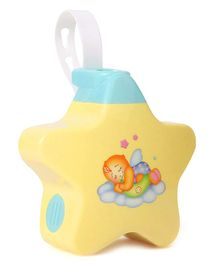 Abhiyantt Sleeping Musical Stars Projector Toy - Yellow