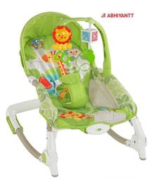 Abhiyantt Toddler Portable Recliner Rocker Chair - Green