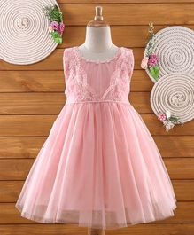 Amigo 7 Seven Floral Lace Sleeveless Dress - Pink