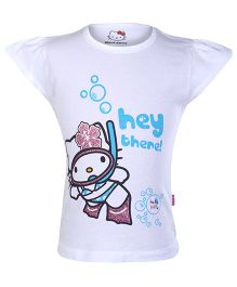 Hello Kitty - Short Sleeves Printed Top