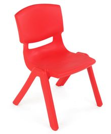 Baby Plastic Chair - Red
