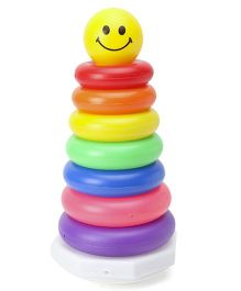 Alpaks Stacking Ring Tower Medium Pack of 10 - Multicolour