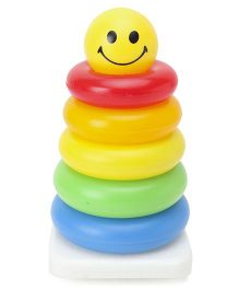 Alpaks Stacking Ring Tower Multicolour Small - Pack of 7