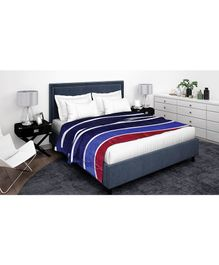 Athom Trendz Premium Double Blanket - Multi Color