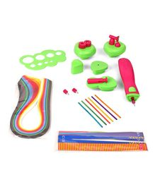 Quill On Super Quiller & Buddies Multi Colour - 11 Pieces