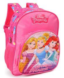Disney Princess Beauties School Bag Pink Height 12 Inches