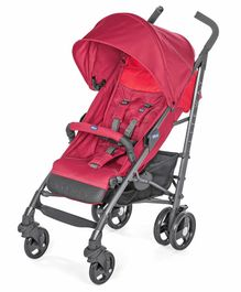 Chicco Lite Way 3 Basic Stroller - Red