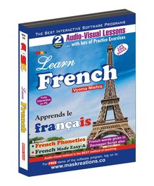 Learn French CD - Hindi English French