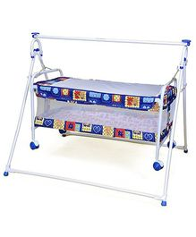 Mothertouch -  Bear Print Baby Cradle Cum Bassinet