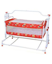 Mothertouch Red Floral Deluxe Compact Cradle