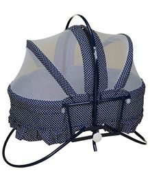 Mothertouch Rocking Cradle Cum Bassinet Navy Blue