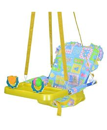 Mothertouch Top Swing Yellow N Blue