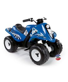 SMOBY - QUAD RALLY Battery Operated Ride On BLUE