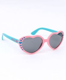 Babyhug Heart Shape Sunglasses - Light Pink