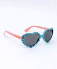 Babyhug Heart Shape Sunglasses - Blue