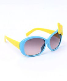 Babyhug Sunglasses Butterfly Design - Blue & Yellow