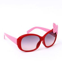 Babyhug Sunglasses Butterfly Design - Red & Pink
