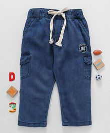 Olio Kids Full Length Jeans - Light Blue