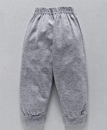 Fido Full Length Solid Color Lounge Pant - Grey