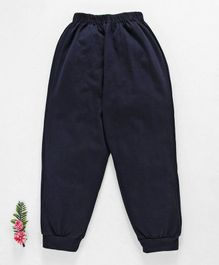 Fido Full Length Solid Color Lounge Pant - Dark Navy