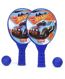 Hot Wheels Junior Racket Set - Blue