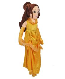 Disney Princess Belle Plush Doll Yellow - Height 60 cm