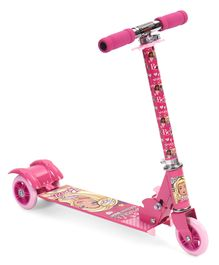 Barbie Three Wheeler Scooter - Pink