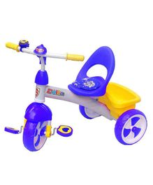 Funride Delta Baby Tricycle With Bell - Purple