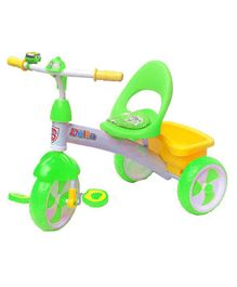 Funride Delta Baby Tricycle With Bell - Green