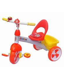 Funride Delta Baby Tricycle With Bell - Red