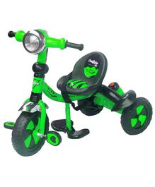 Funride DukeTricycle with Sipper & Bell - Green