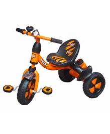 Funride Unik Premium Tricycle With Sipper Bottle - Orange