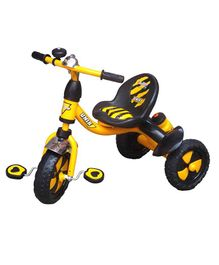 Funride Unik Premium Tricycle With Sipper Bottle - Yellow
