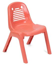 Plastic Baby Chair - Peach