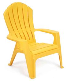 Plastic Baby Chair - Yellow