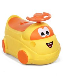 Ride On Style Potty Chair - Yellow