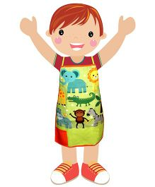 Swayam - Animal Print Kids Apron Small